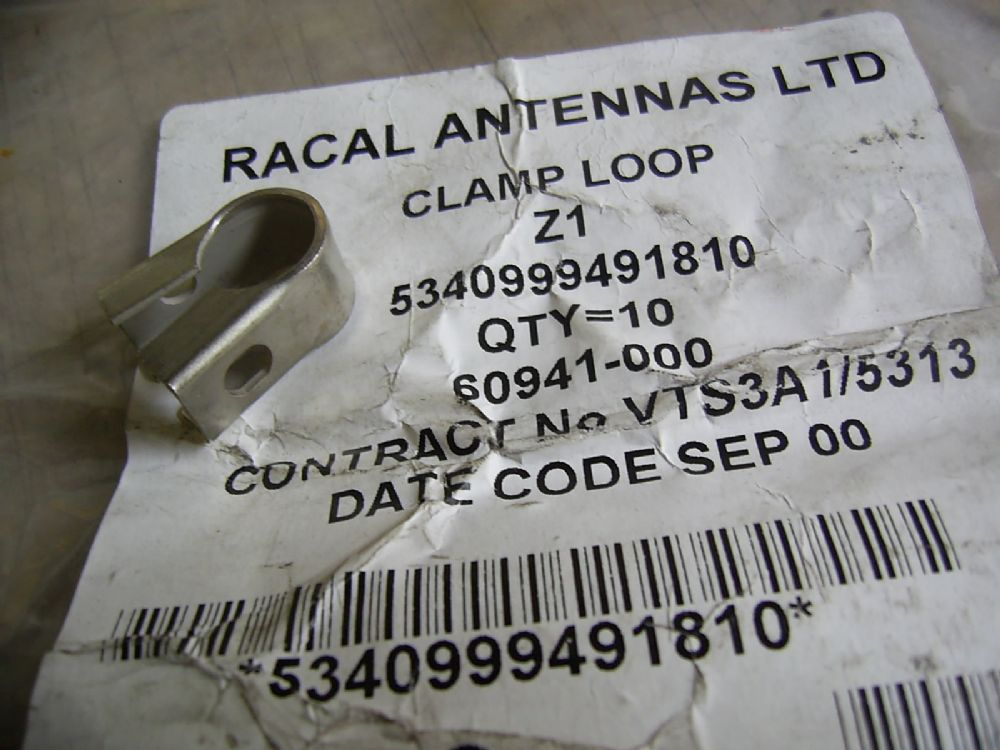 Racal Antennas Clamp Loop New